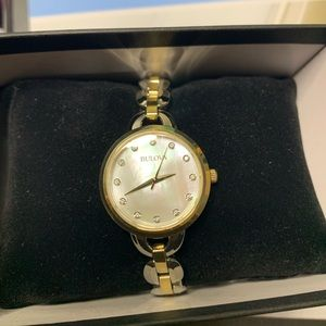 Women's Two Tone Bulova Watch